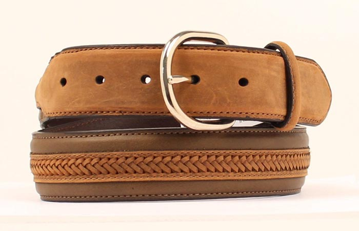 Nocona Center Lacing Men's Belt