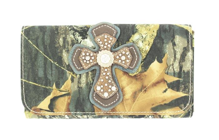 Blazin Roxx Cross Overlay Wallet
