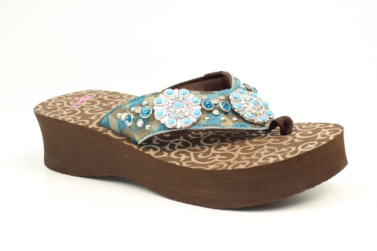 Blazin Roxx Jessi Ladies Flip Flops