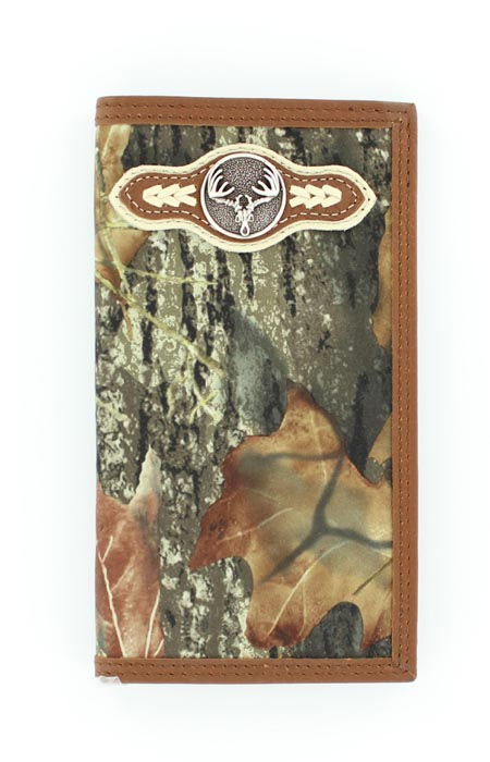 Nocona Men's Rodeo Skull Wallet