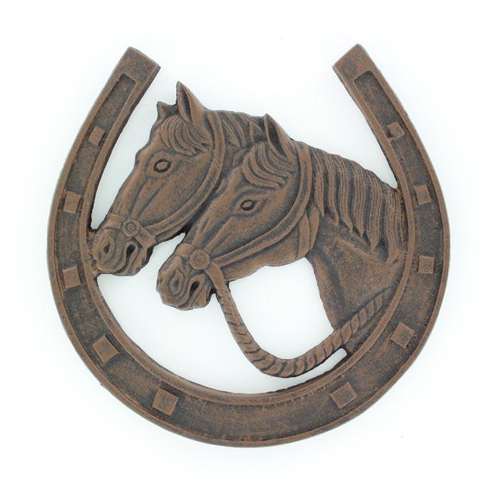 Western Moments Rustic Horseshoe Trivit