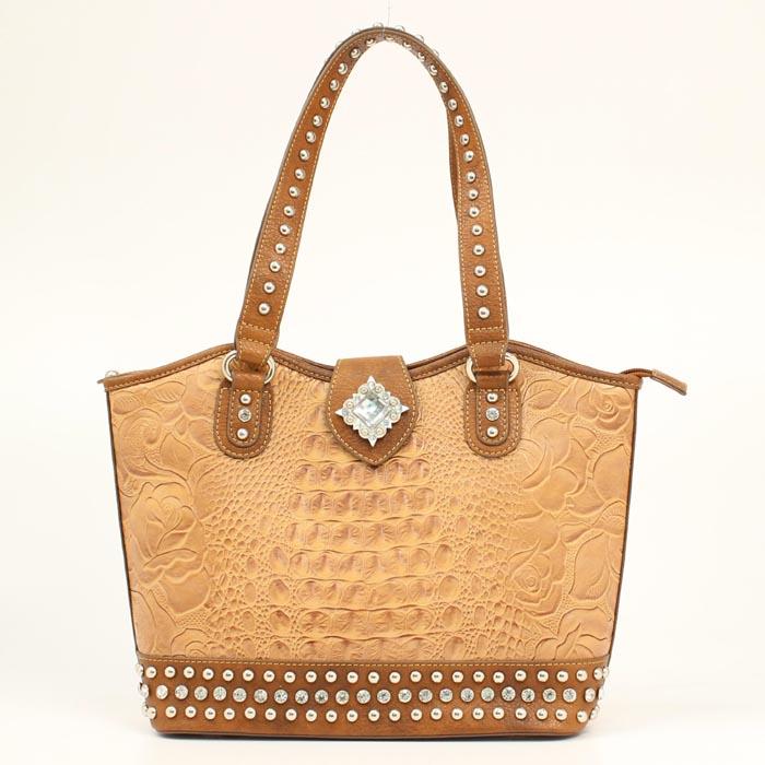 Blazin Roxx Diamond Croc Bucket Bag
