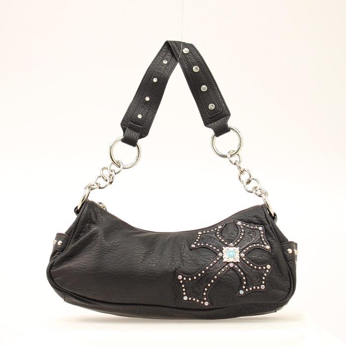 Blazin Roxx Diagonal Cross Hobo Bag