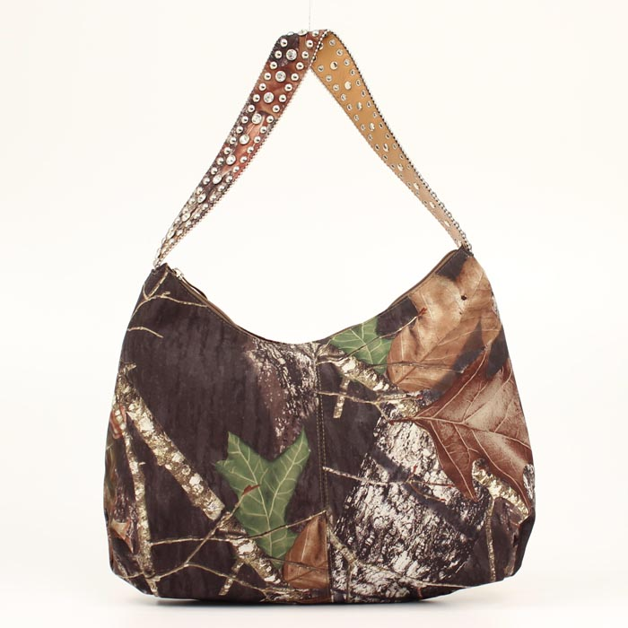 Blazin Roxx Camo Handbag with Crystal Strap