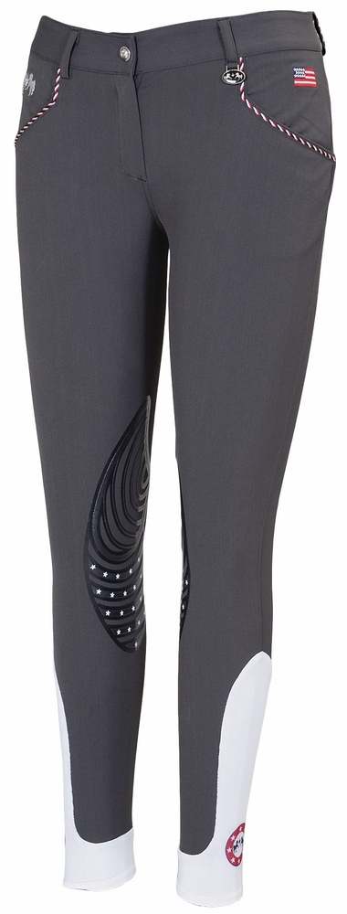 Equine Couture Ladies' Centennial Knee Patch Breeches