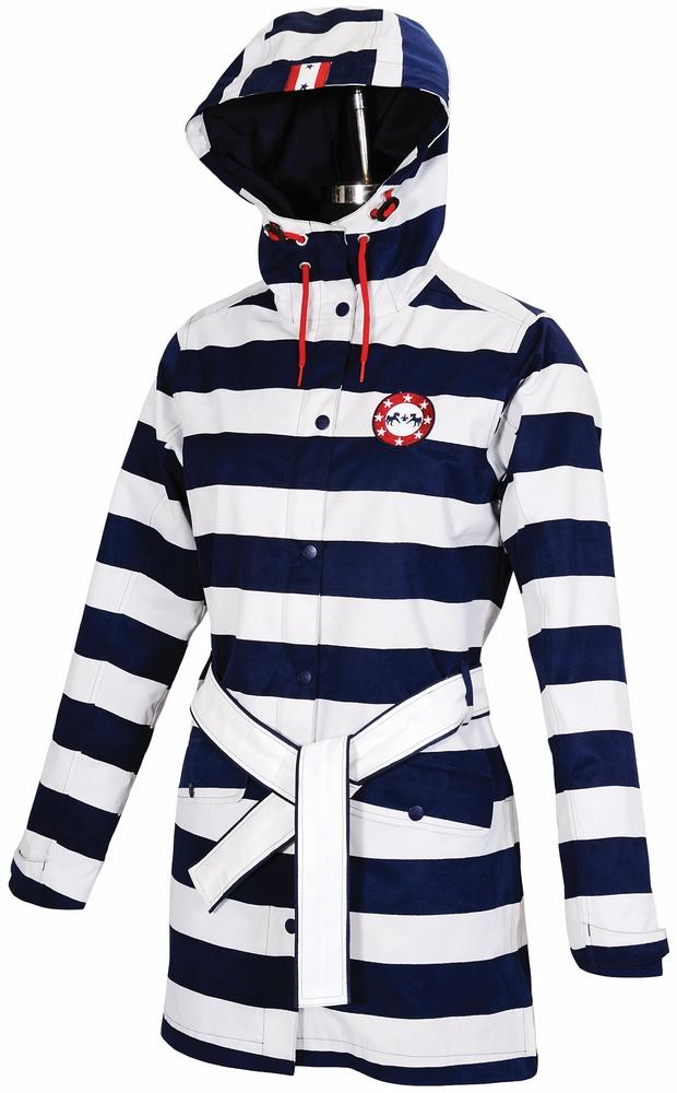 Equine Couture Ladies' Nautical Rainshell Jacket