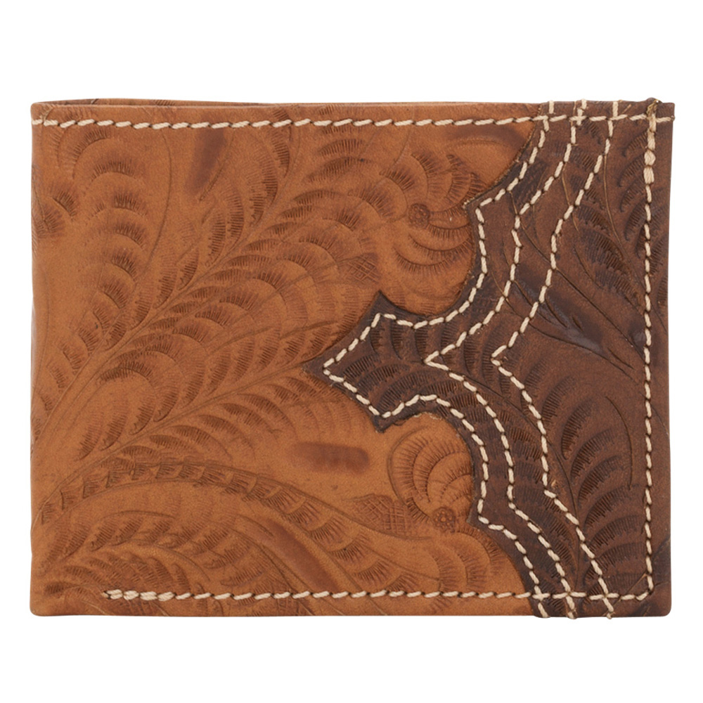 American West Men's Bi-Fold Wallet