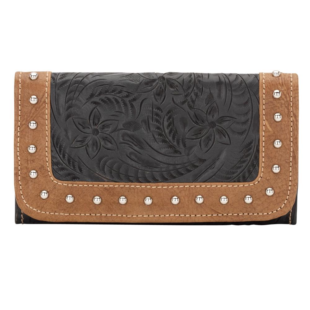 American West True Colors Ladies' Tri-Fold Wallet