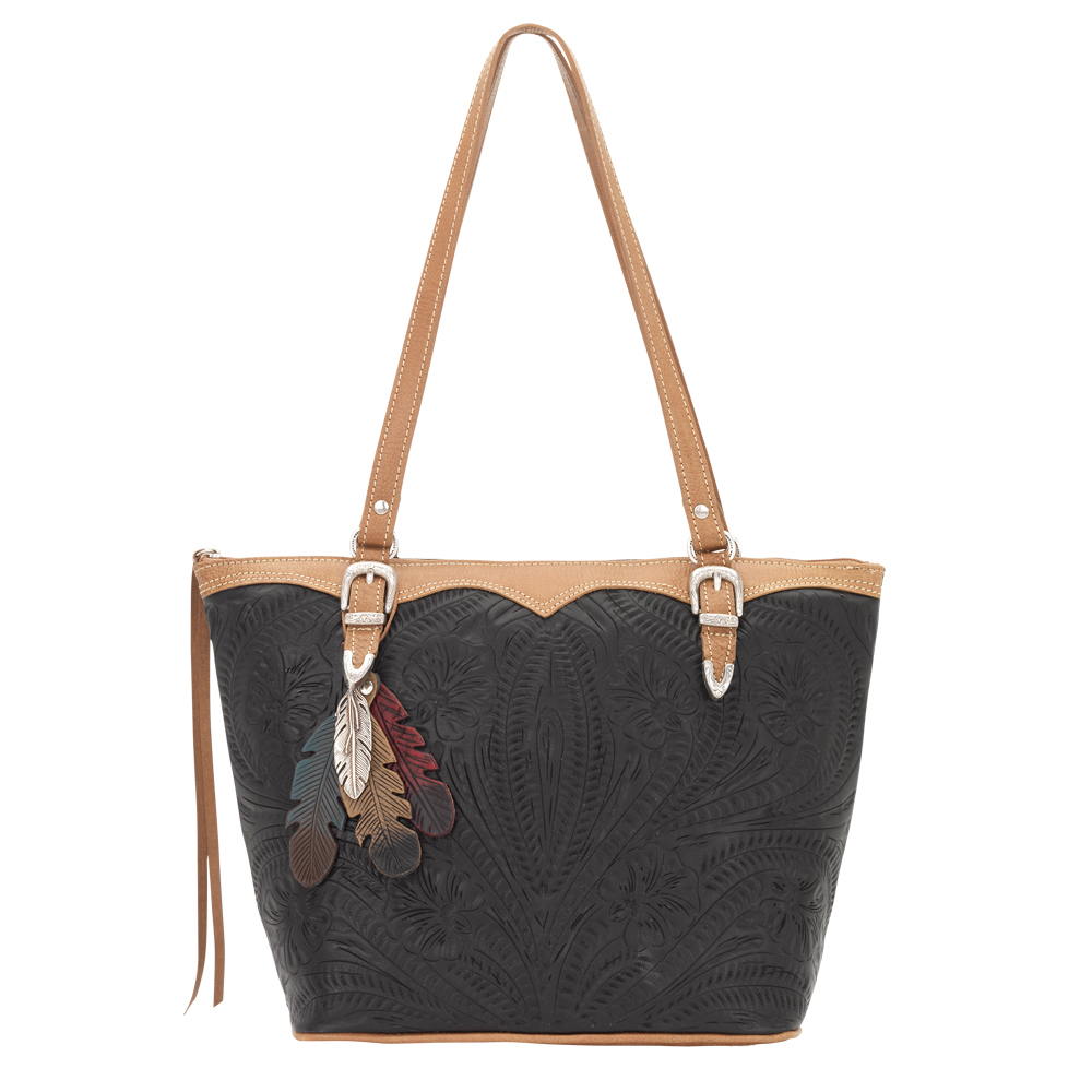 American West Birds of a Feather Bucket Tote Handbag