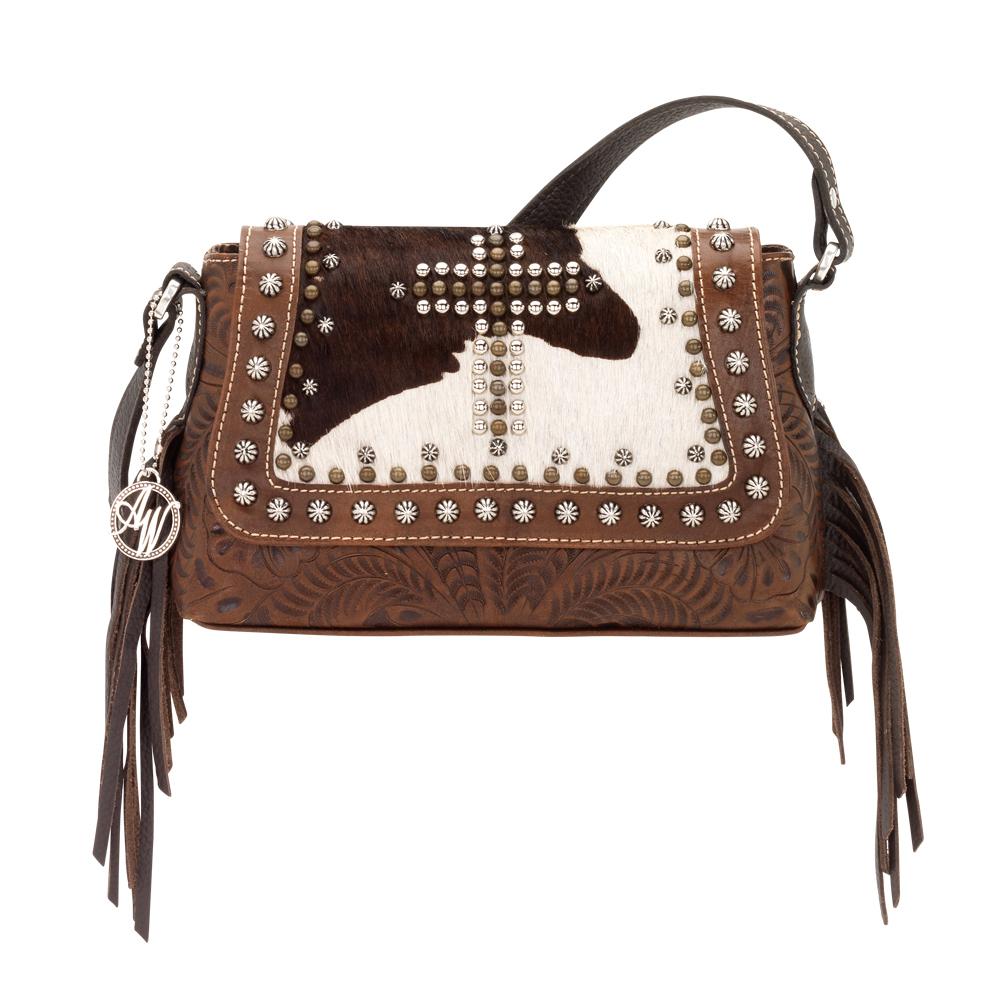American West Home on the Range Crossbody Handbag