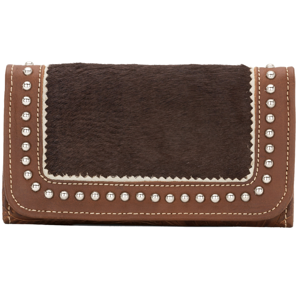 American West Tulsa Twilight Ladies' Tri-Fold Wallet