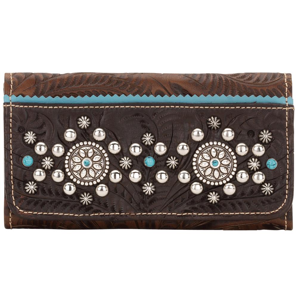 American West Hayloft Ladies' Tri-Fold Wallet