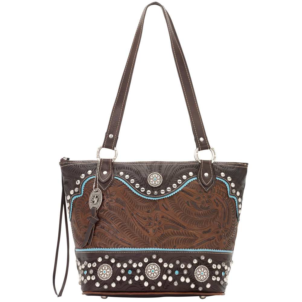 American West Hayloft Bucket Tote Handbag