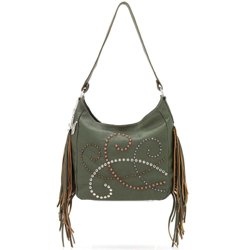 American West Dream Catcher Slouch Shoulder Bag
