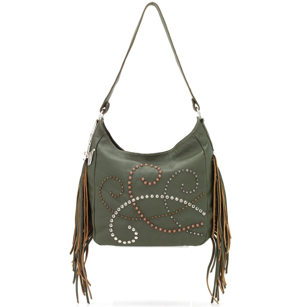 American West Dream Catcher Slouch Shoulder Bag