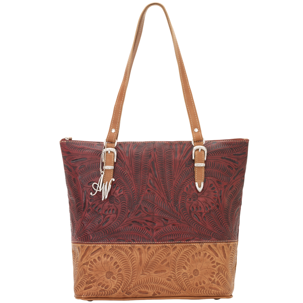 American West Uptown Girl Briefcase Tote