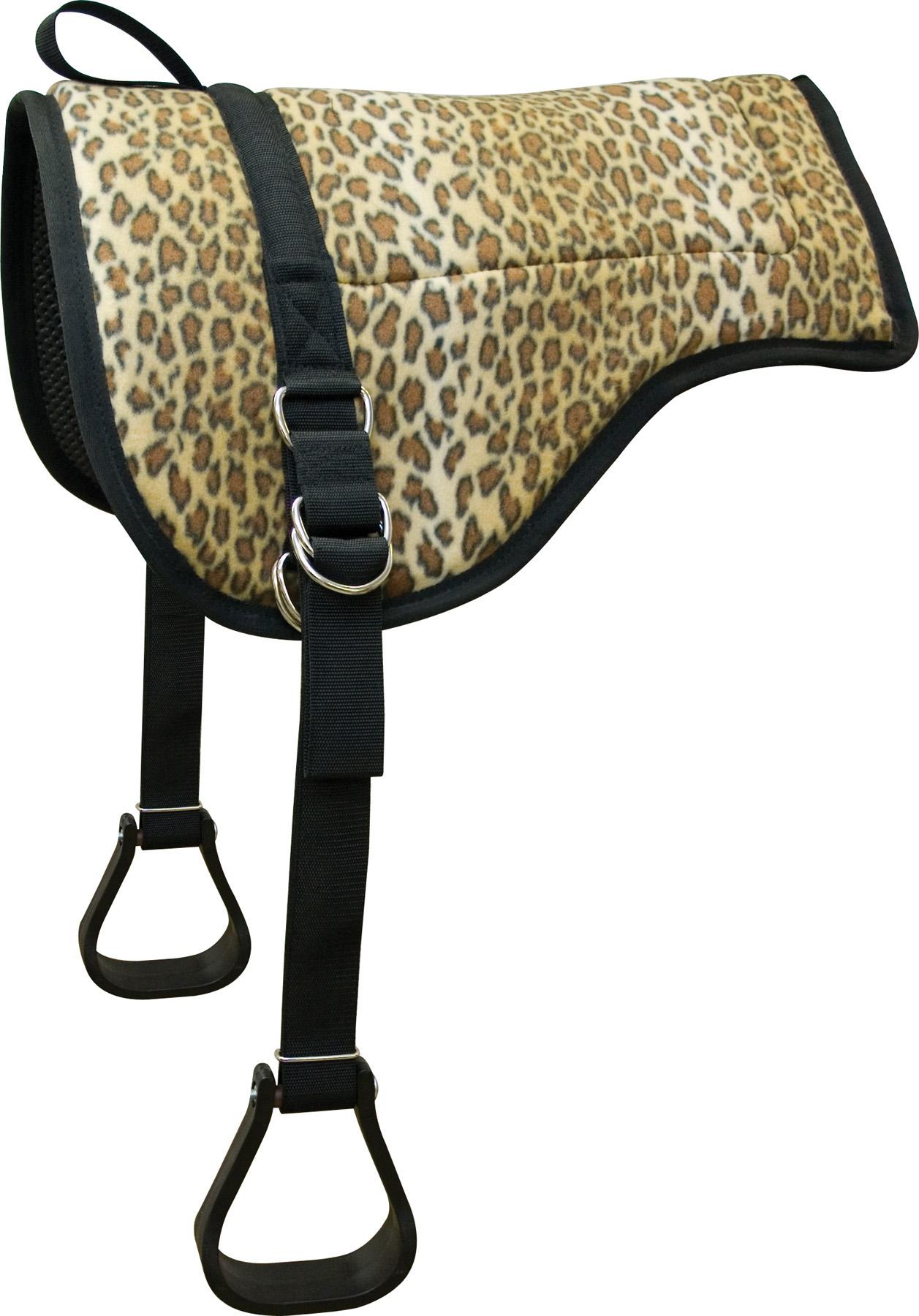 ABETTA Leopard Bareback Pad