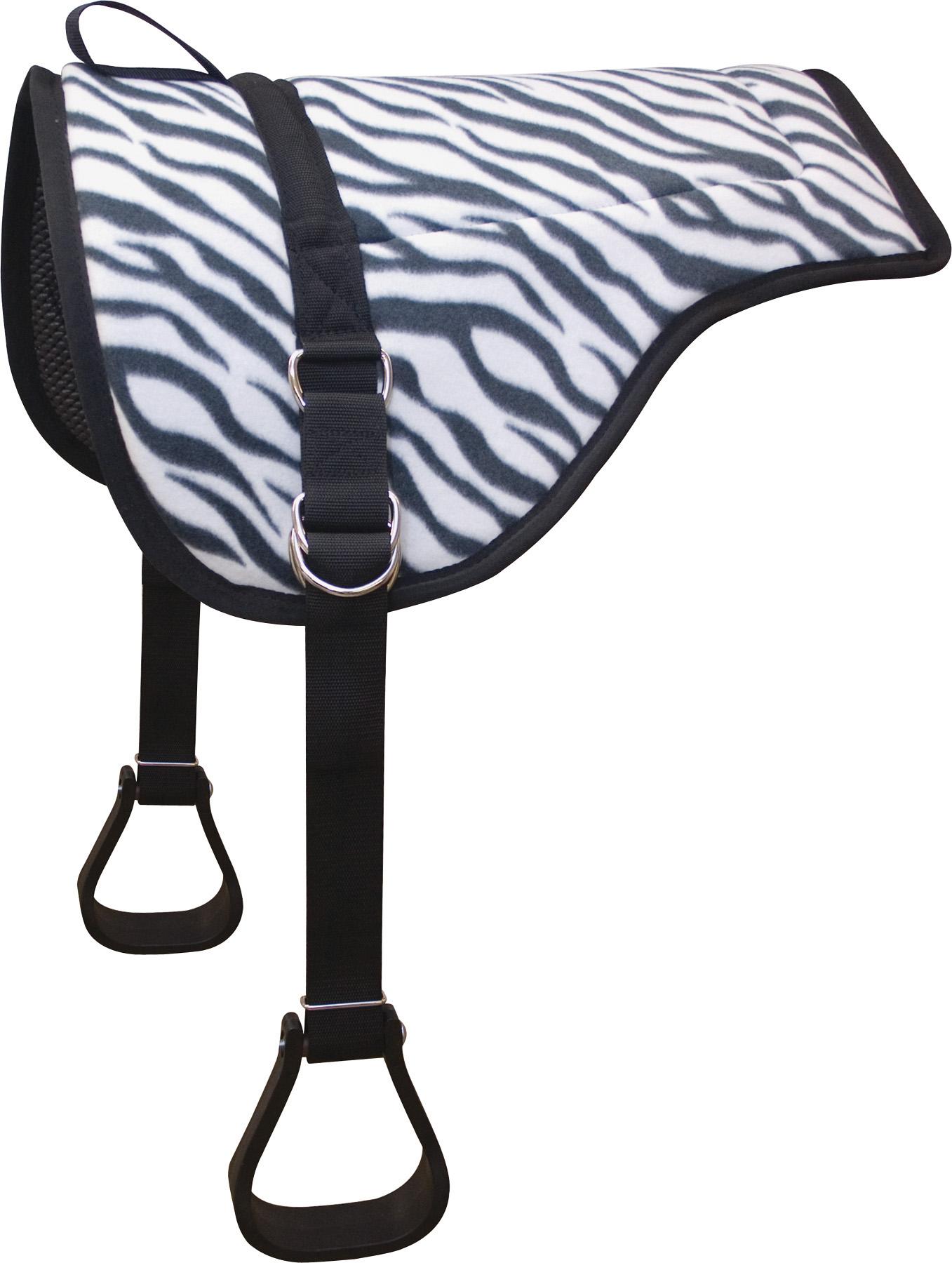 ABETTA Zebra Bareback Pad