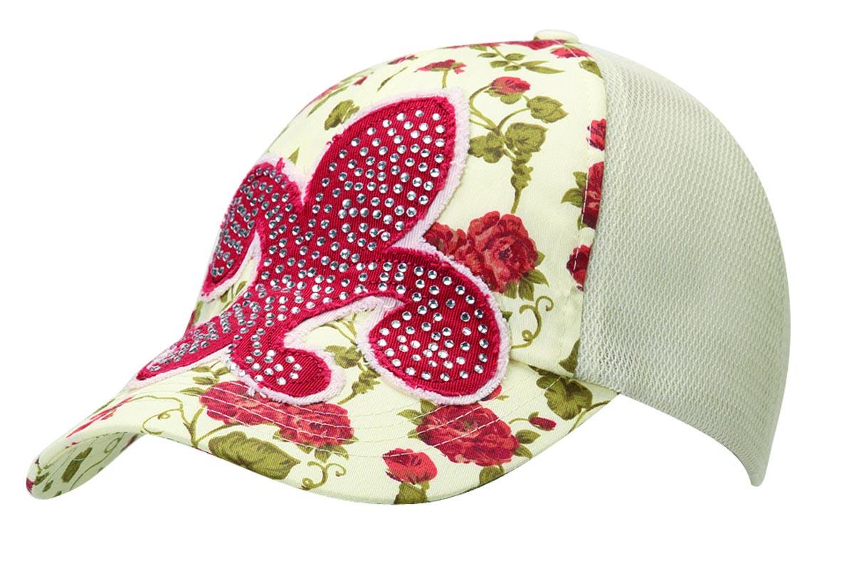 M & F Western Ladies' Floral Fleur Crystal Hat