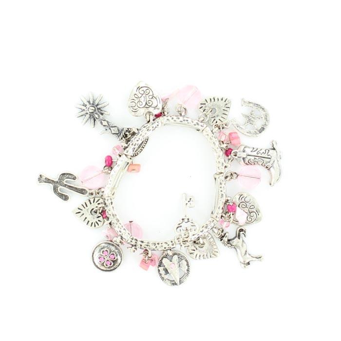 Blazin Roxx Western Charms Bracelet