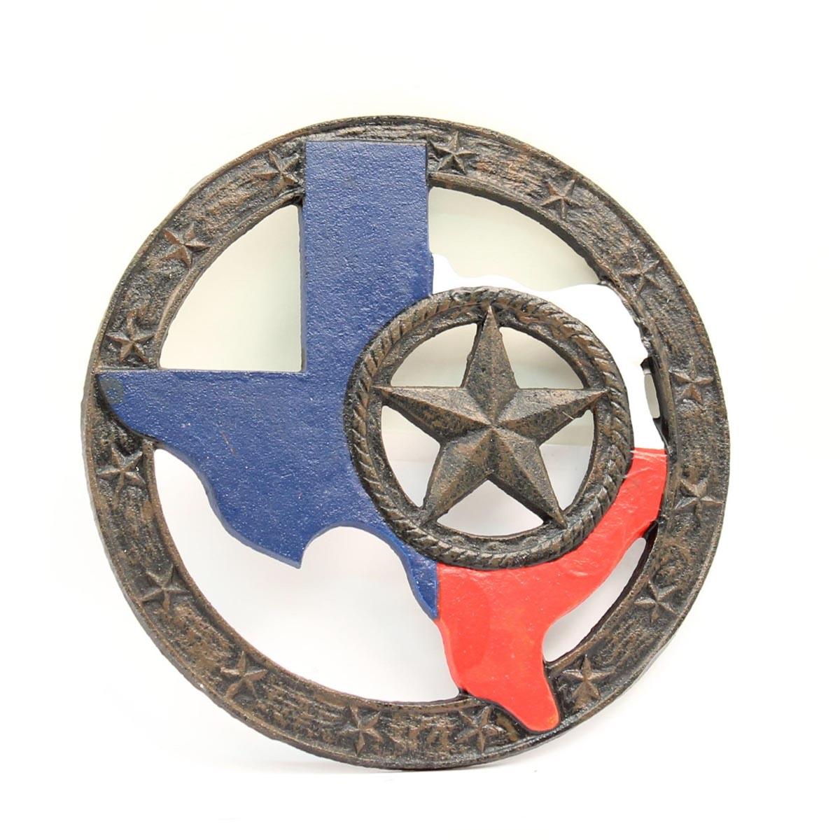 Western Moments Texas Seal Trivet