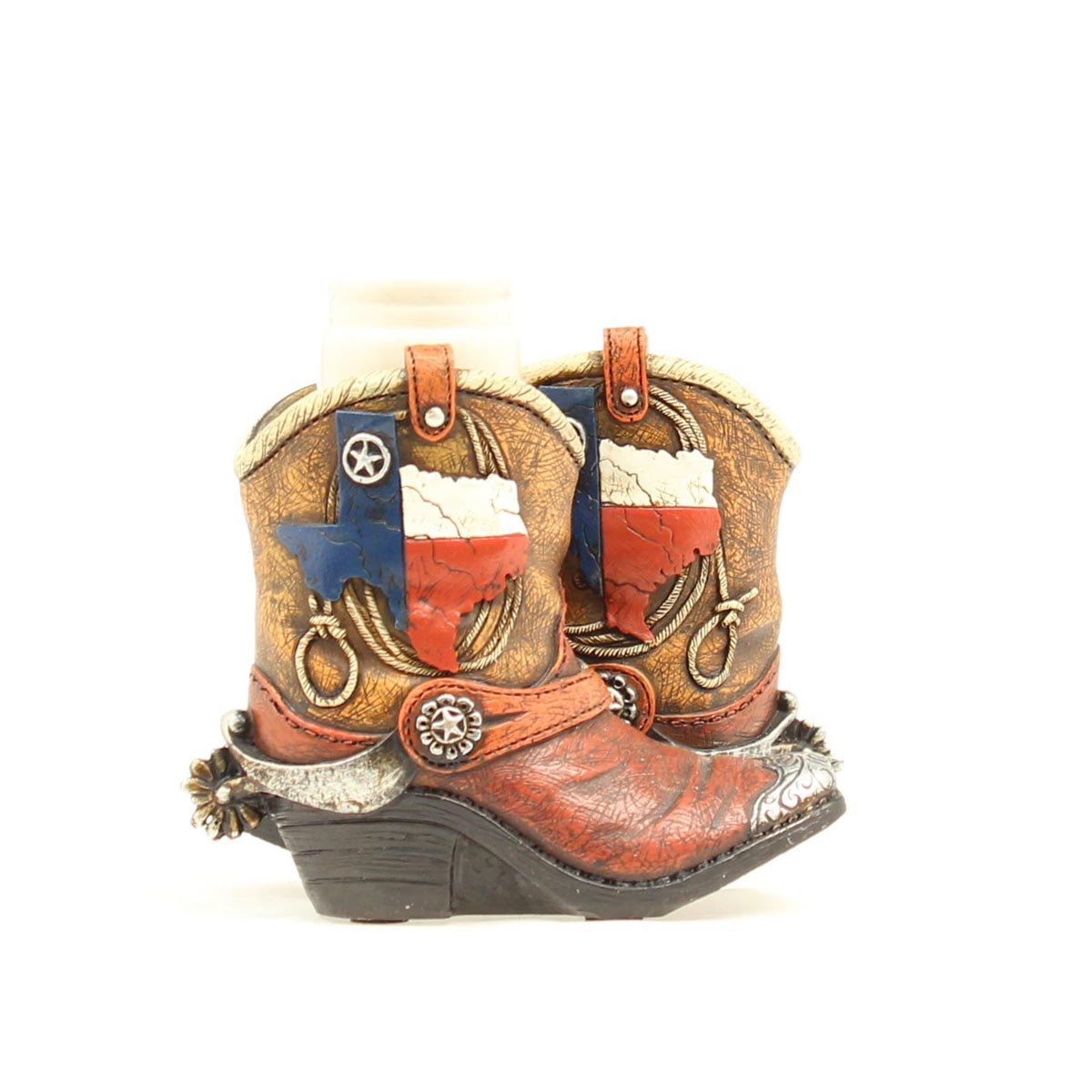 Western Moments Resin Boot Salt & Pepper Caddy