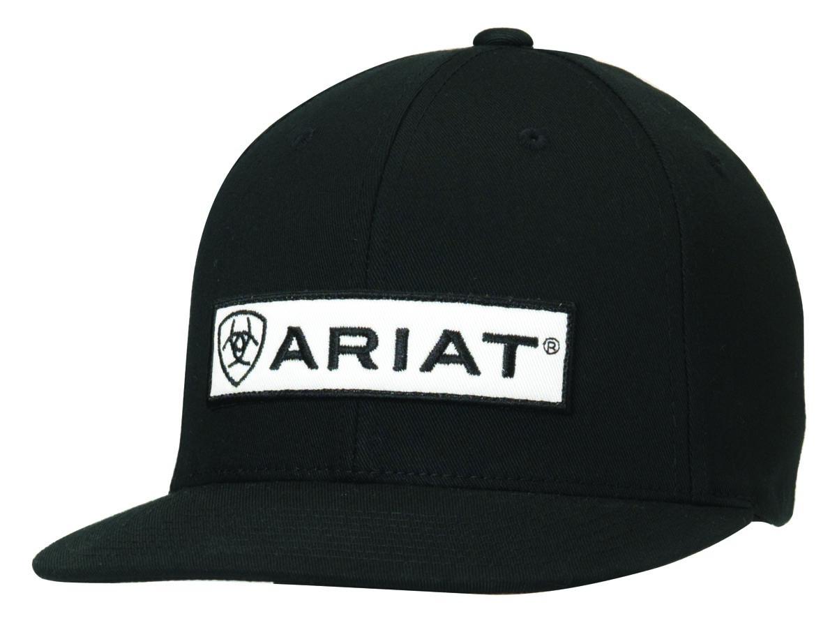 ARIAT Flat Bill Snap Back Cap