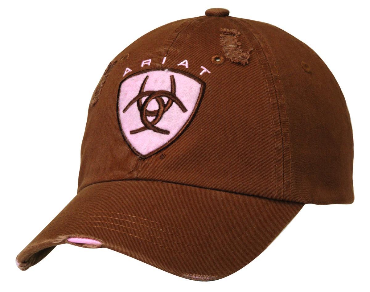 ARIAT Ladies Ariat Logo Patch Ball Cap