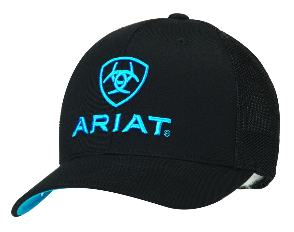 ARIAT Flex Fit Half Mesh Back Cap