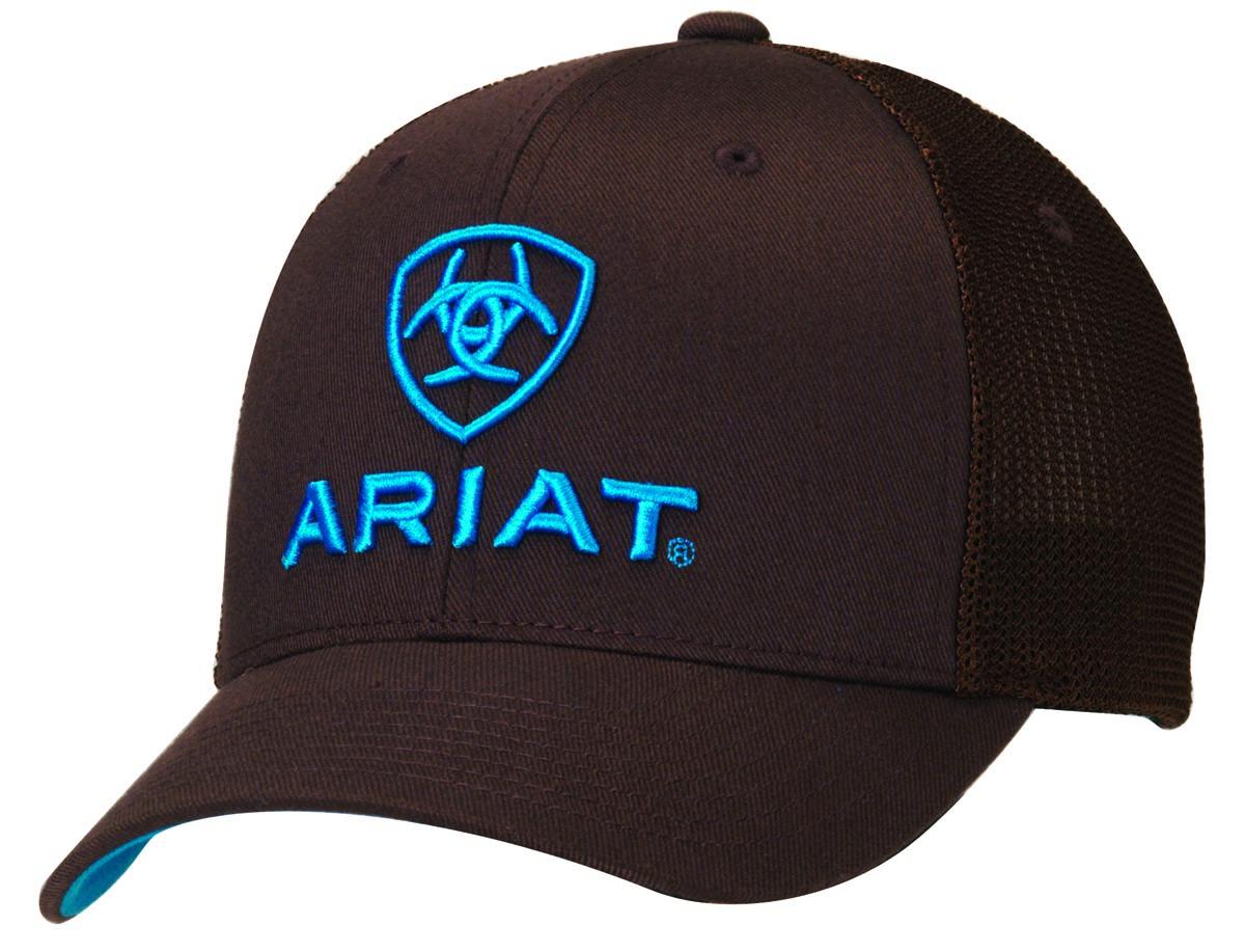 ARIAT Flex Fit Half Mesh Back Cap