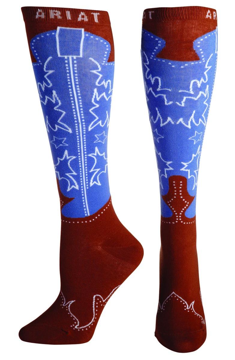 ARIAT Women's Western Boot Knee Sock