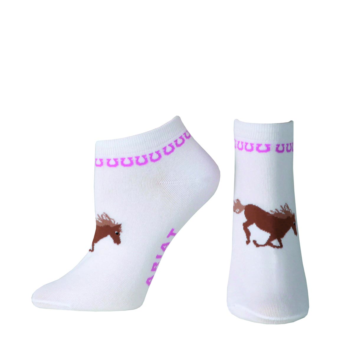 ARIAT Women's Spirit No Show Sock
