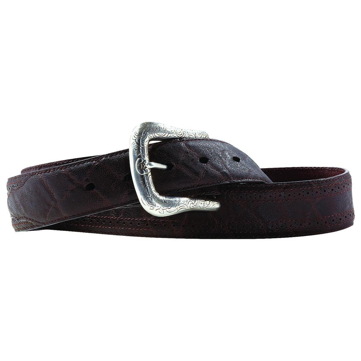 ARIAT Men's Western Basic Perforated Belt