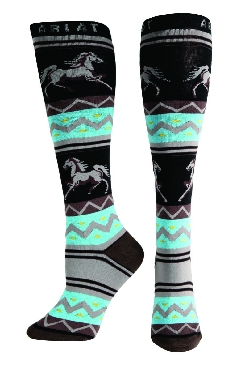 ARIAT Women's Apache Knee Sock