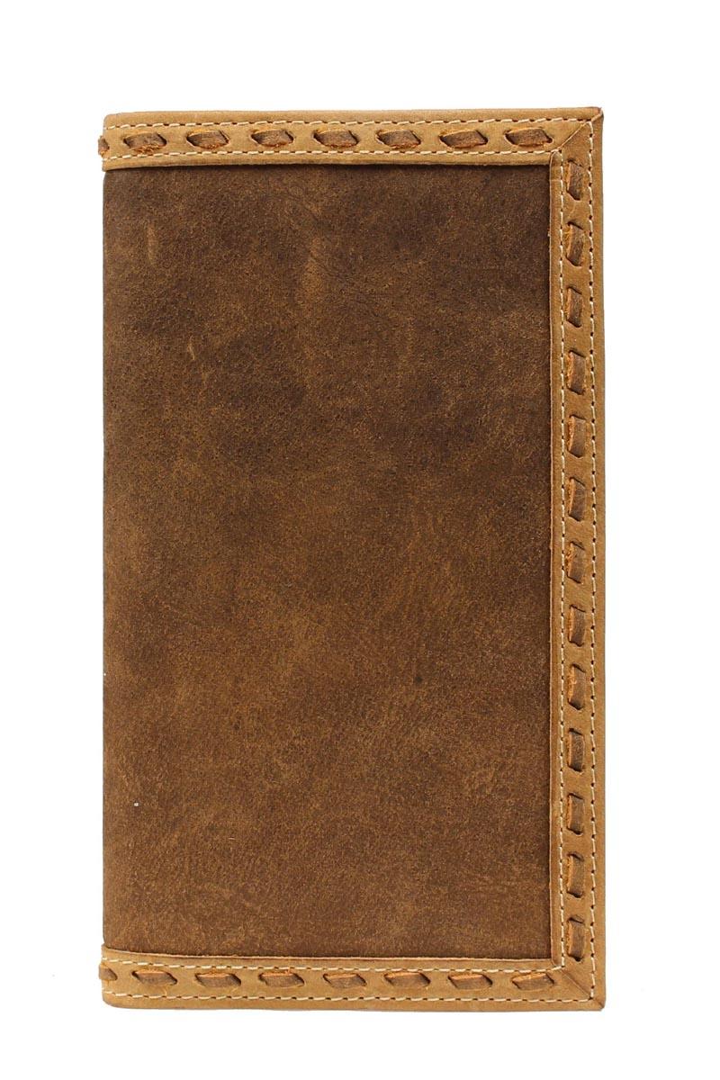 ARIAT Men's Buckstitch Plain Rodeo Wallet