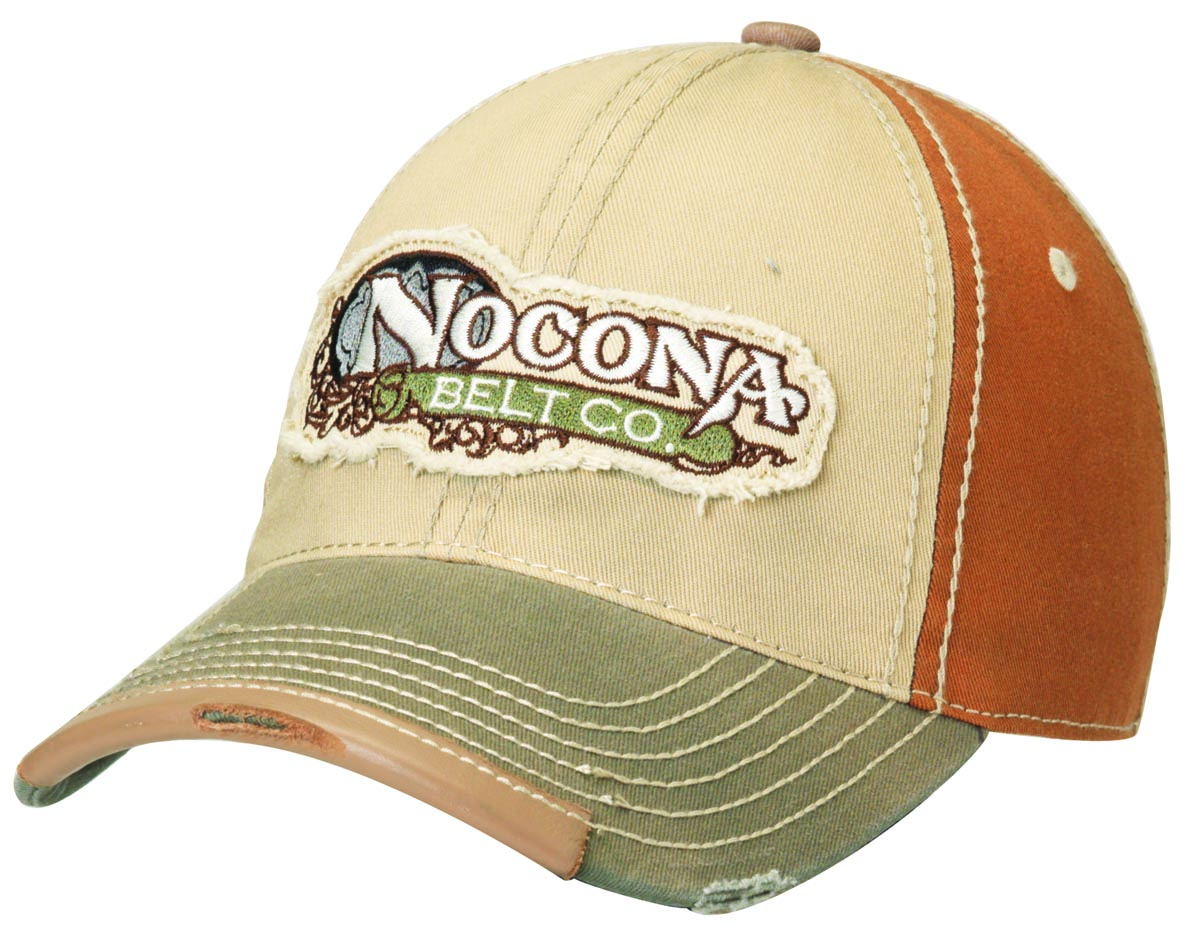 Nocona Logo Distressed Cap