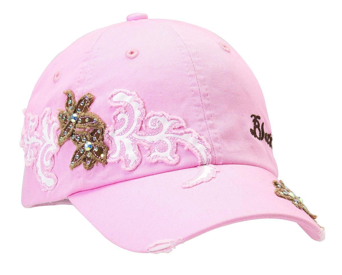 Blazin Roxx Bling Flower/Swirl Baseball Cap