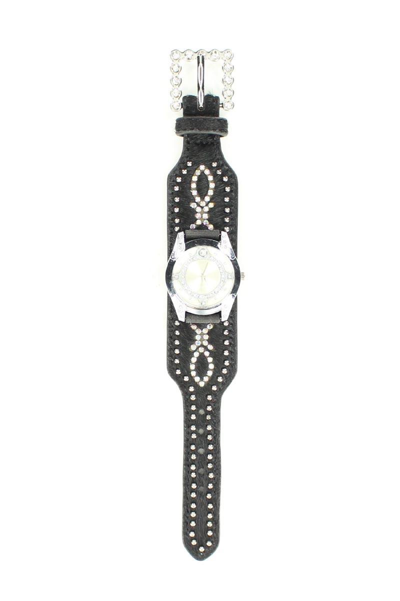 Blazin Roxx Women's Swarovski Crystal Hair Watch