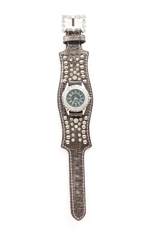 Blazin Roxx Women's Scallop Crystal Watch