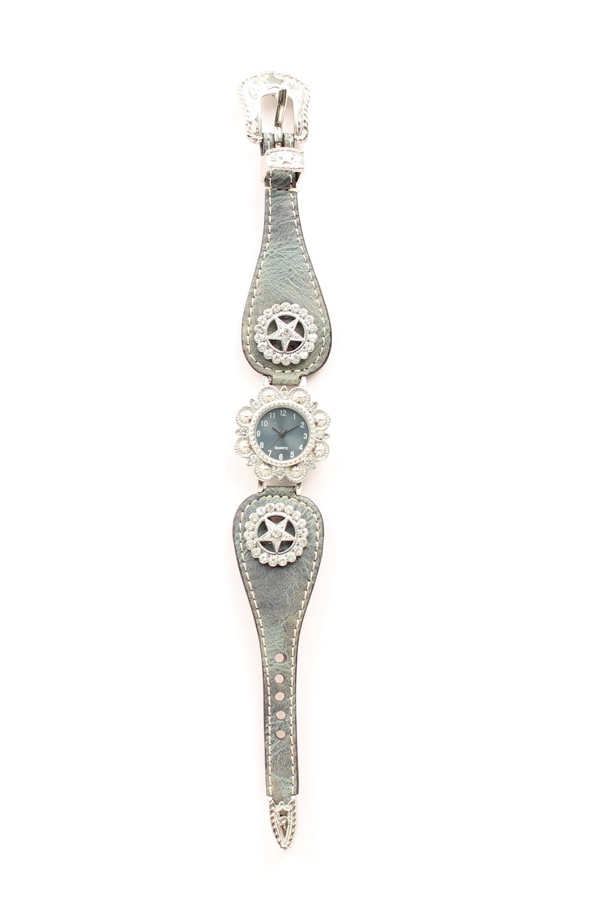 Blazin Roxx Women's Scallop Texas Star Watch