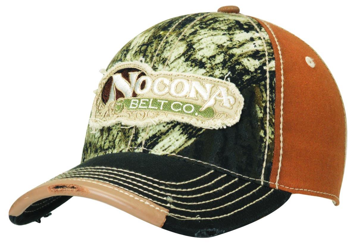 Nocona Camo Logo Baseball Cap
