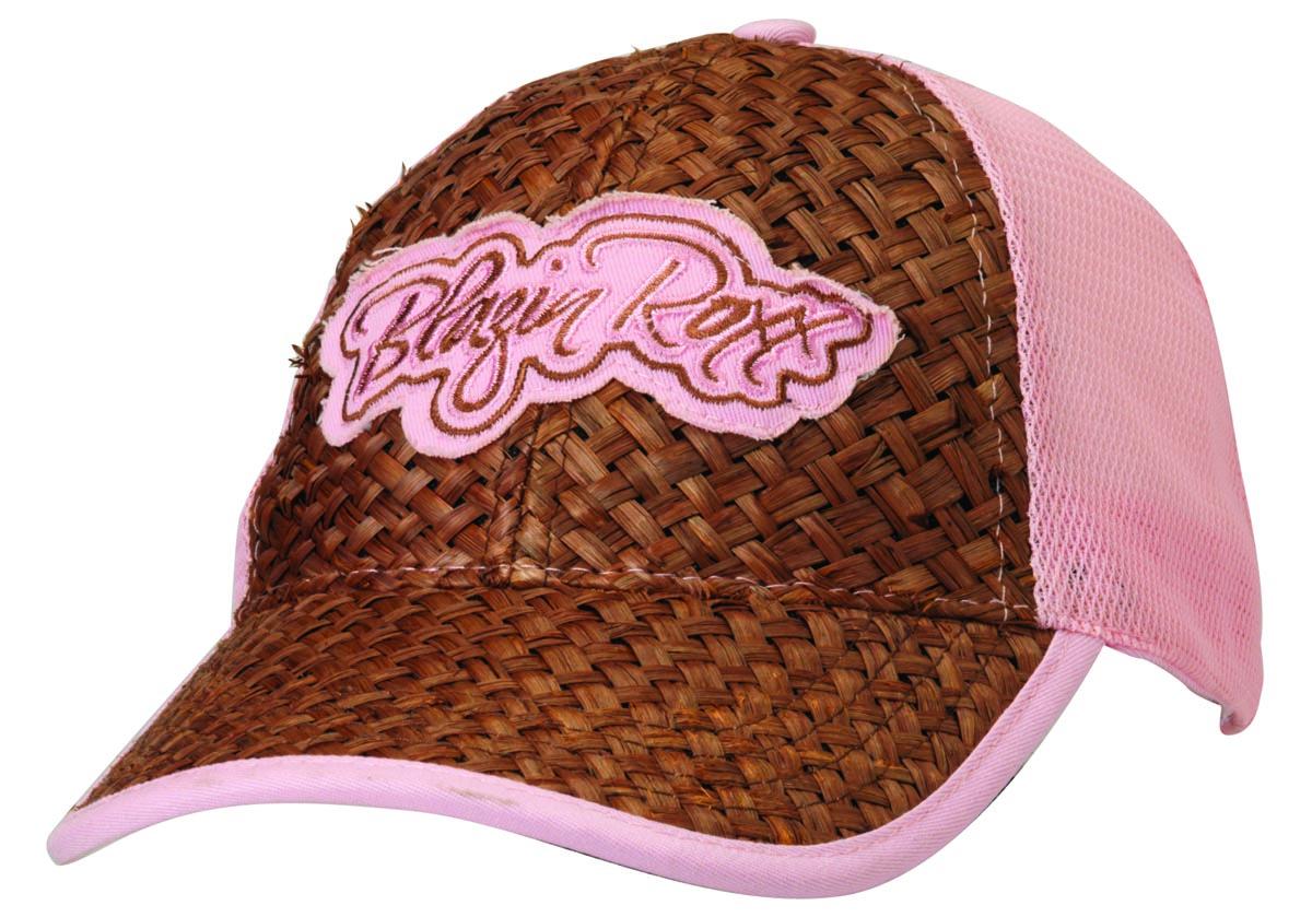 Blazin Roxx Women's Signature Raffia Cap