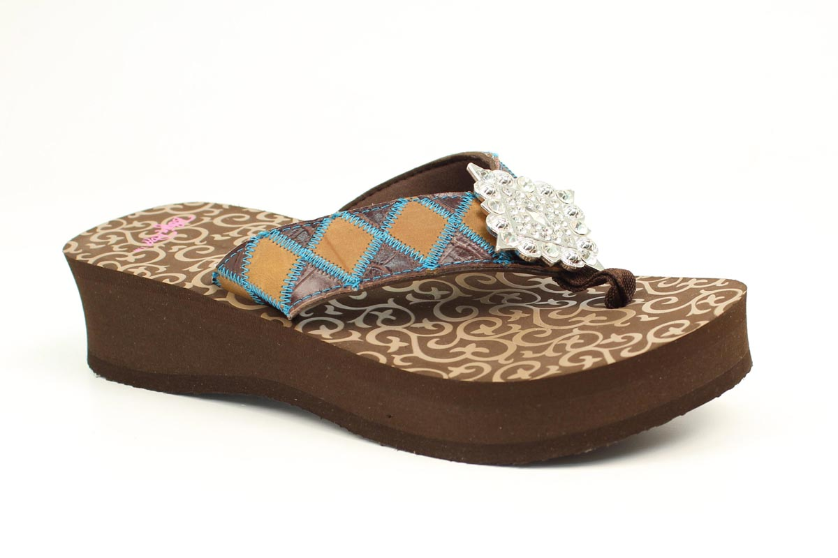 Blazin Roxx Ladies Avilene Flip Flops
