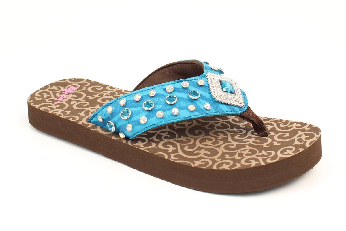 Blazin Roxx Ladies Kennedy Flip Flops