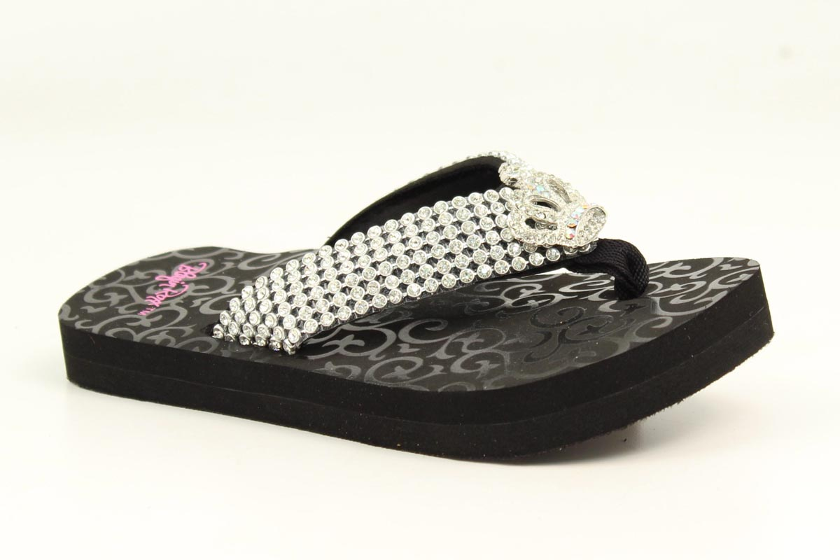 Blazin Roxx Girls' Brooklyn Flip Flops