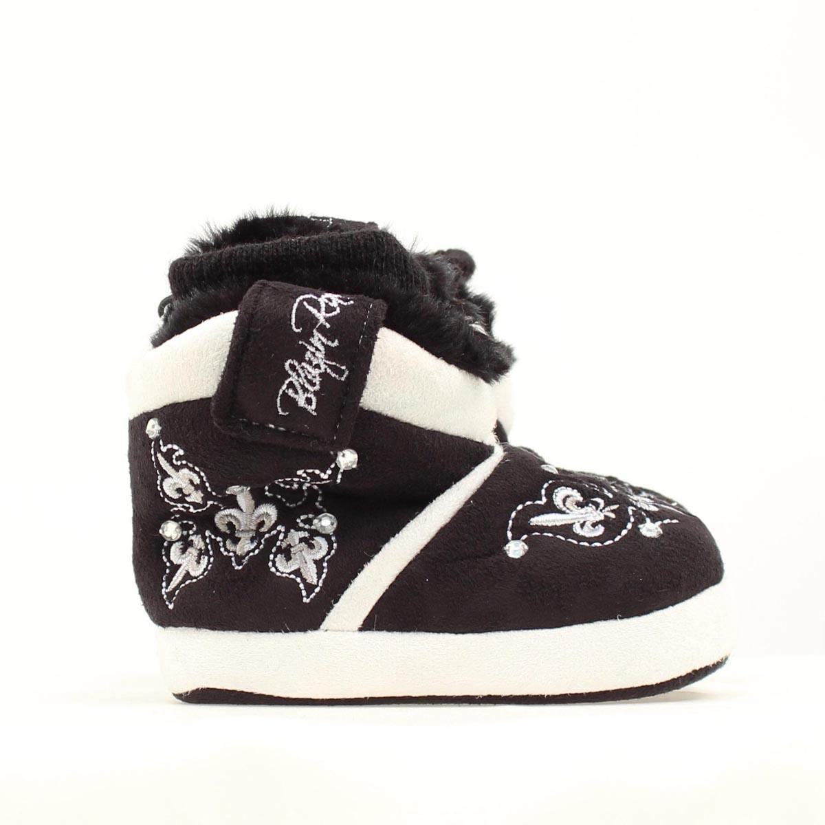 Blazin Roxx Infant Fleur with Crystals Slipper