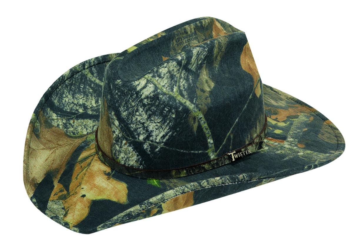 Twister Camo Cowboy Hat