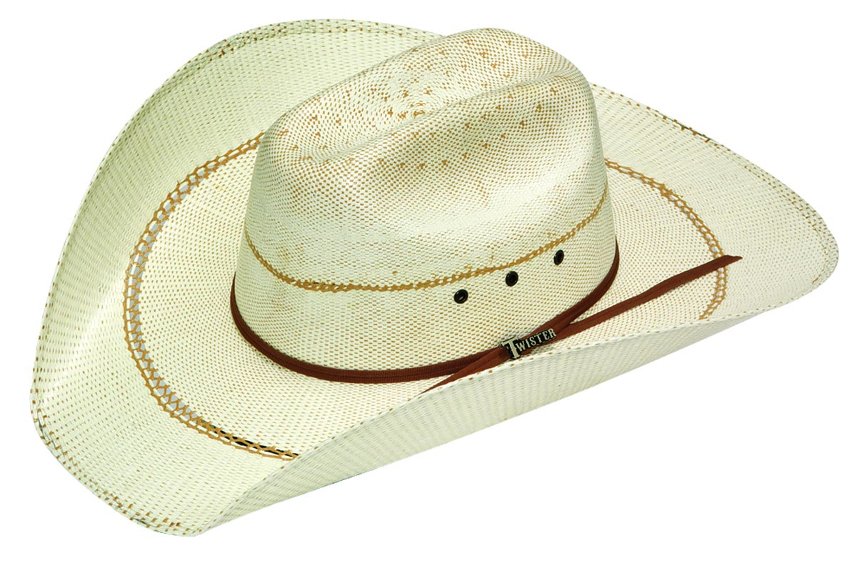 Twister Men's Bangora Straw Cowboy Hat