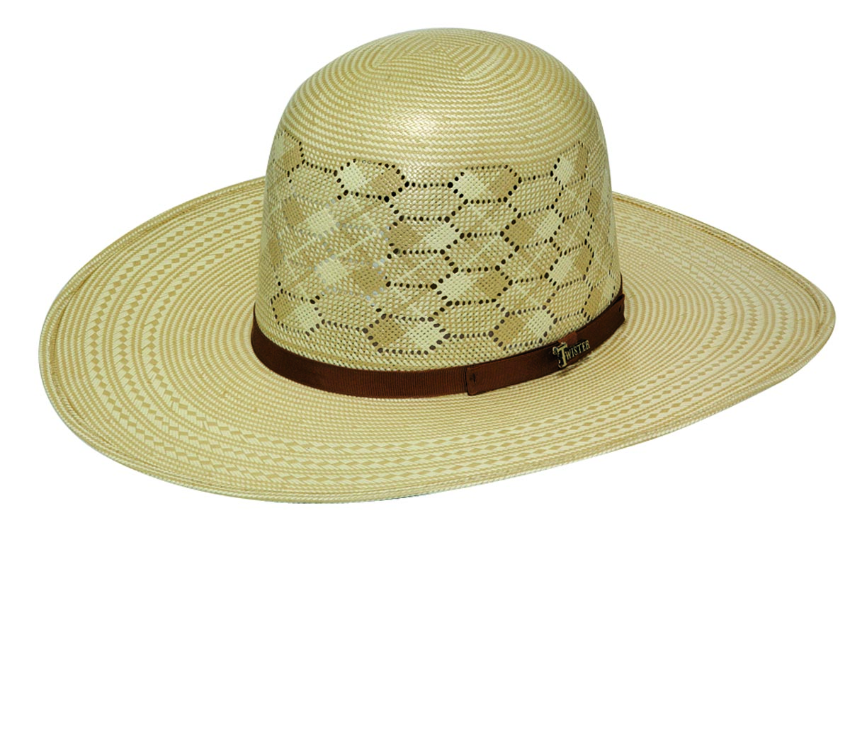 Twister 10X Shantung Cattleman Crown Hat
