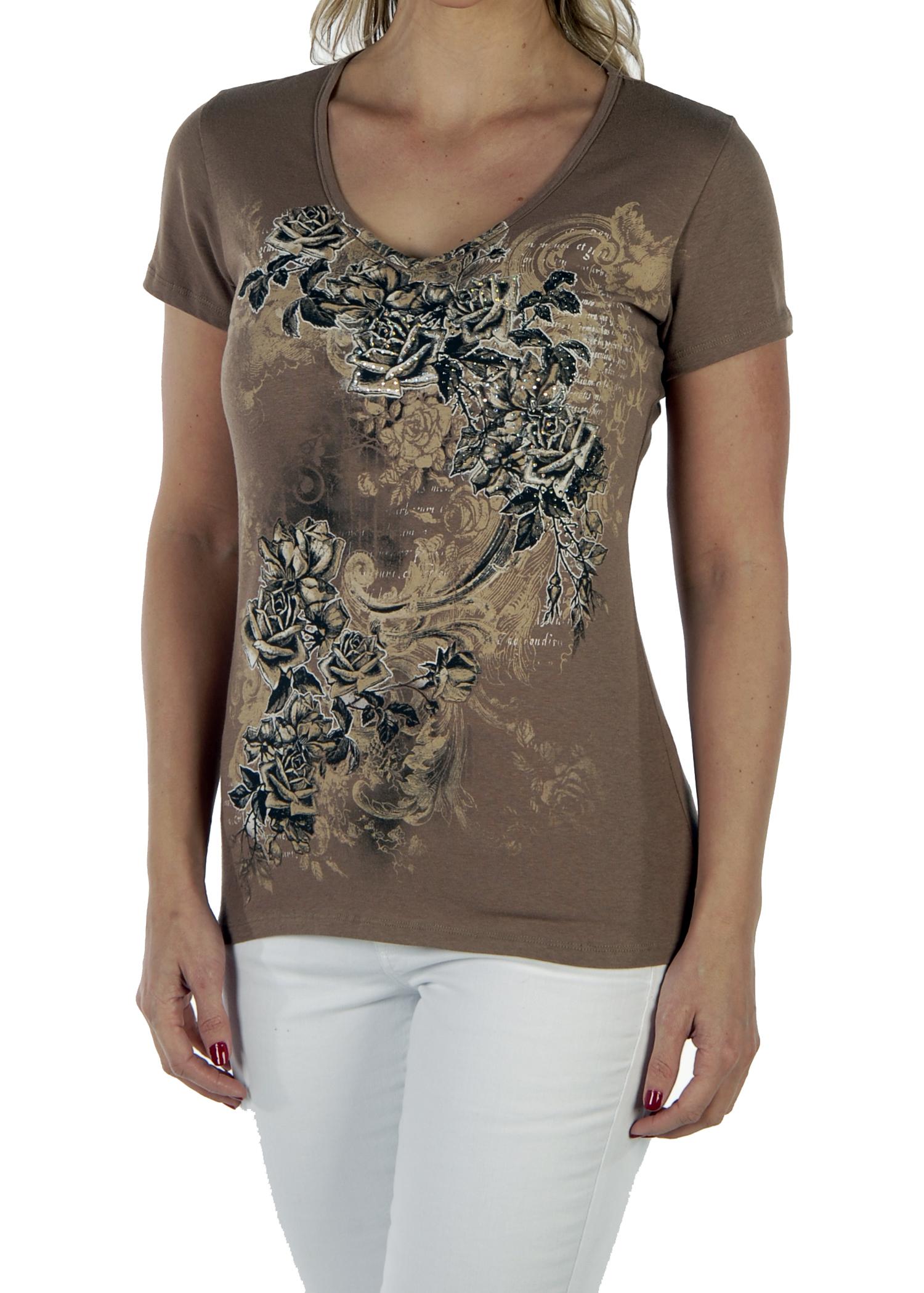 Liberty Wear Romantic Roses Shirt